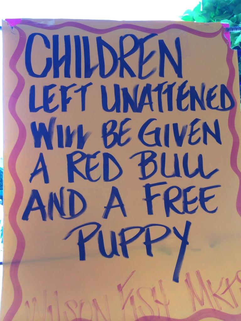 children left unattended