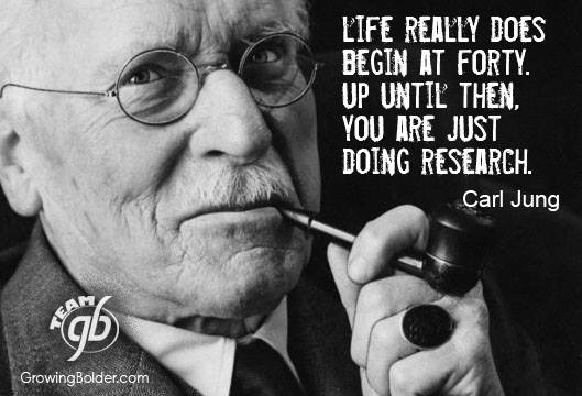 "Jung: ""Life is research"""