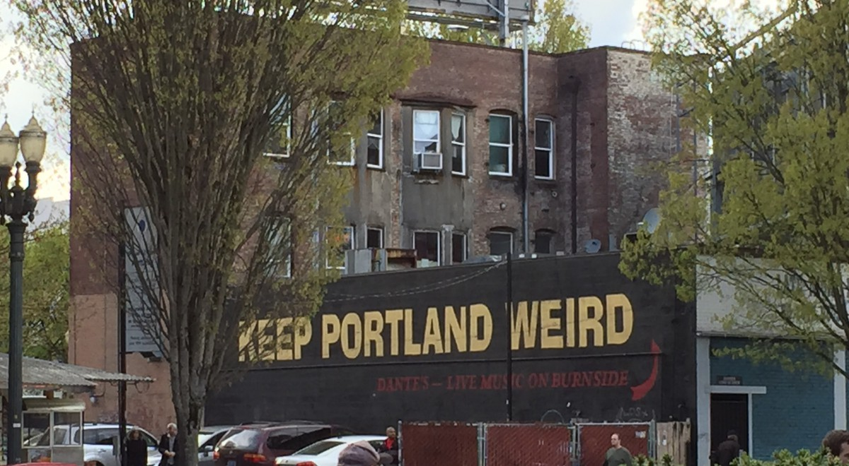 Portland, OR: Powell's Books & Saturday Market
