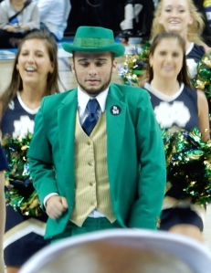 "Notre Dame ""Fighting Irish"" Leprechaun"