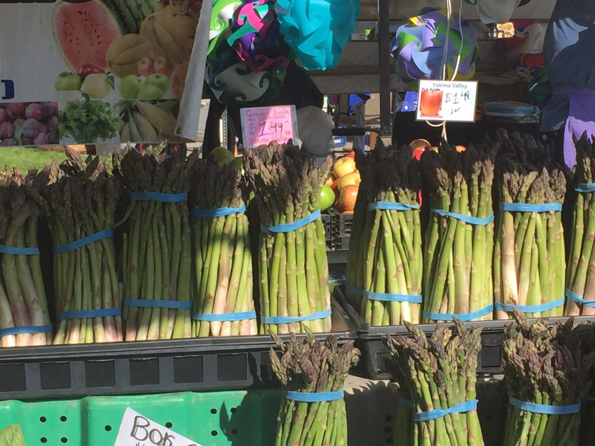 May is U.K. National Asparagus Month