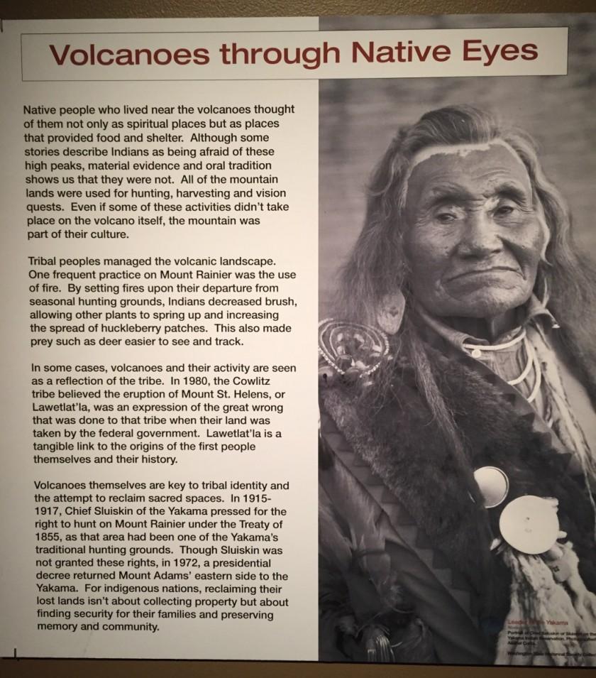 Volcanoes through Native Eyes
