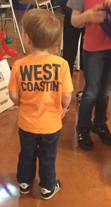 """West Coastin'"" shirt"