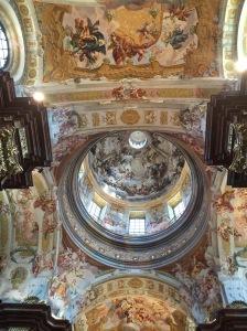 Ceiling, Benedictine Abbey, Melk, Austria