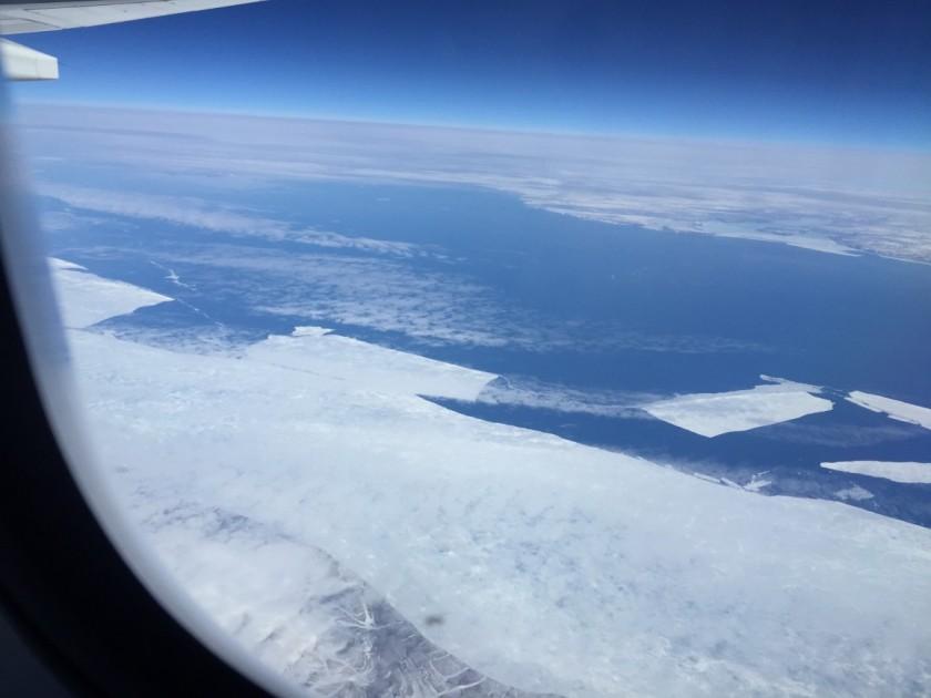 Icy North Atlantic