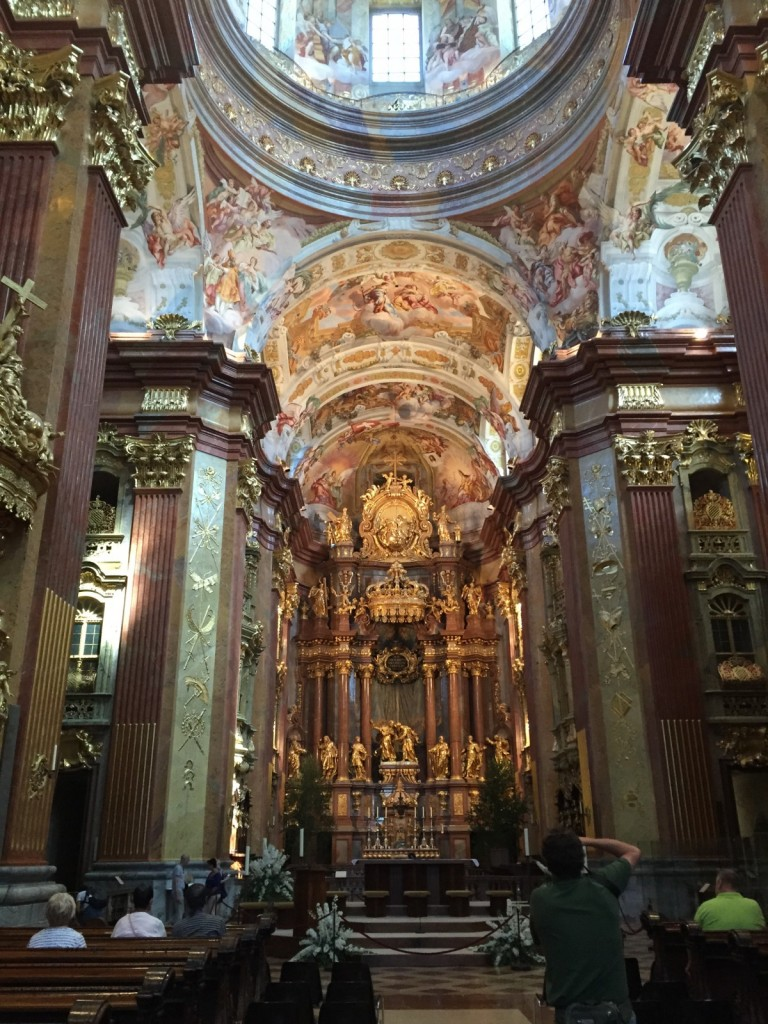Interior, Abbey Church, Melk, Austria