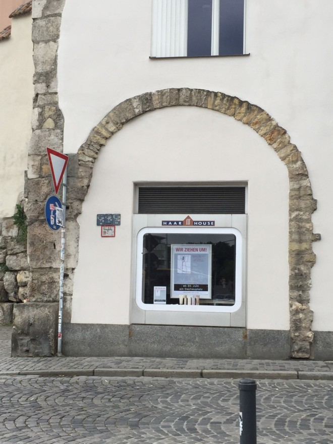 Roman arch, Regensburger