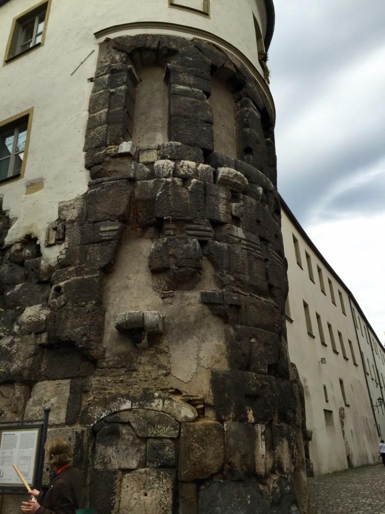 Roman tower, Regensburg