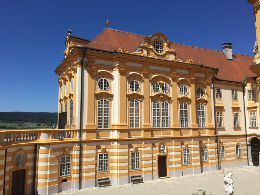 Royal Wing, Benedictine Abbey, Melk, Austria
