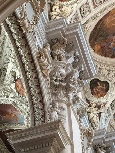 Ceiling, St. Stephan's Cathedral, Passau, Germany