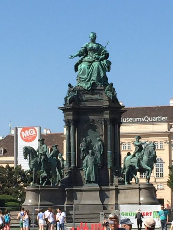Statue of Maria Theresa, Vienna