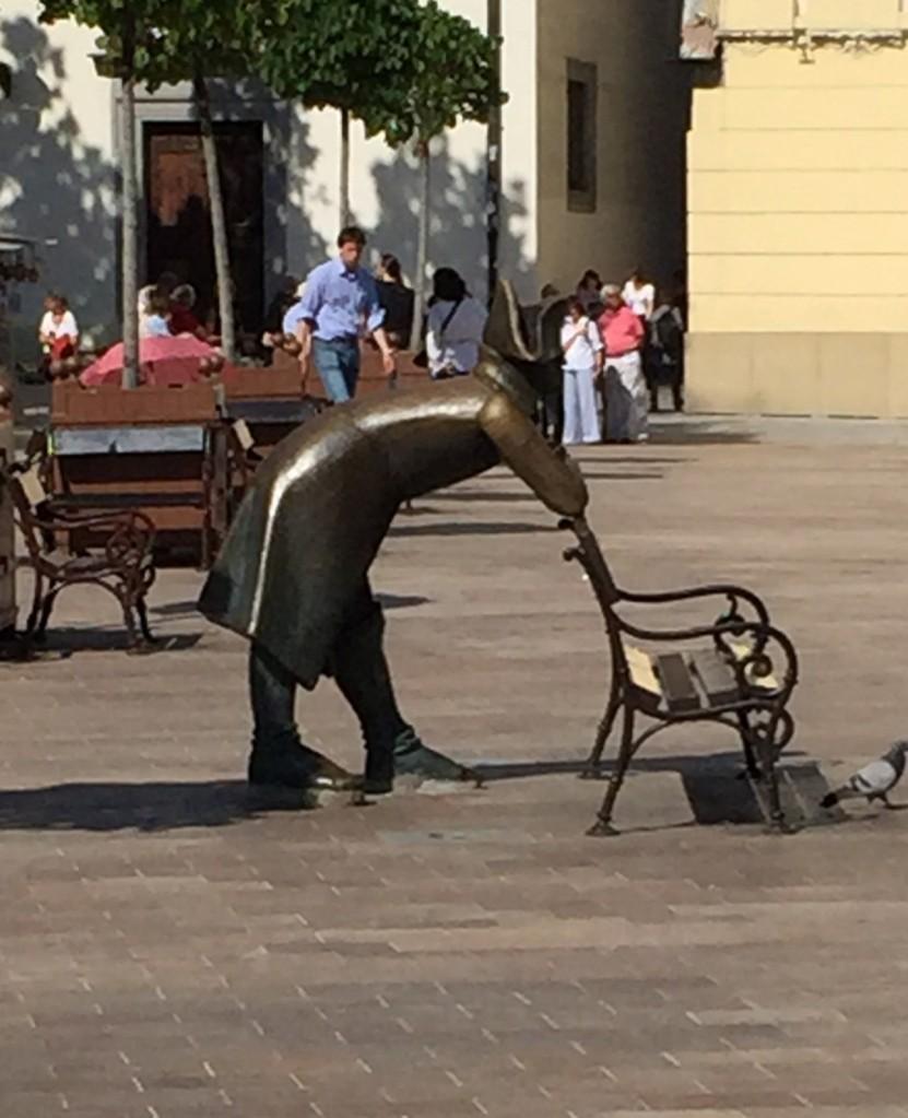 Statue of Napoleon, Bratislava