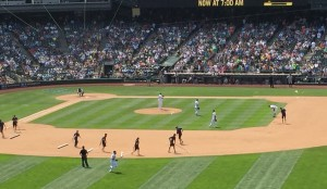 7th inning: Cleaning up the infield