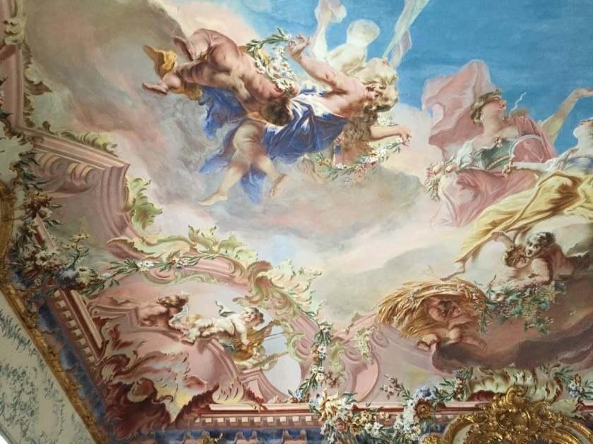 Ceiling, Seehof Palace