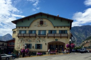 Decorated Building, Leavenworth