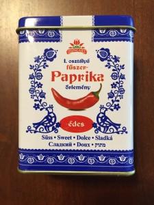 Hungarian paprika, sweet