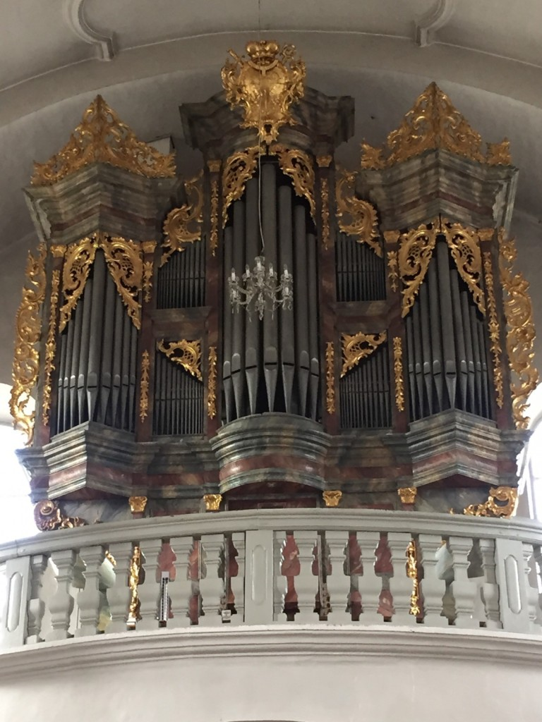 Organ, Pilgrimage Church