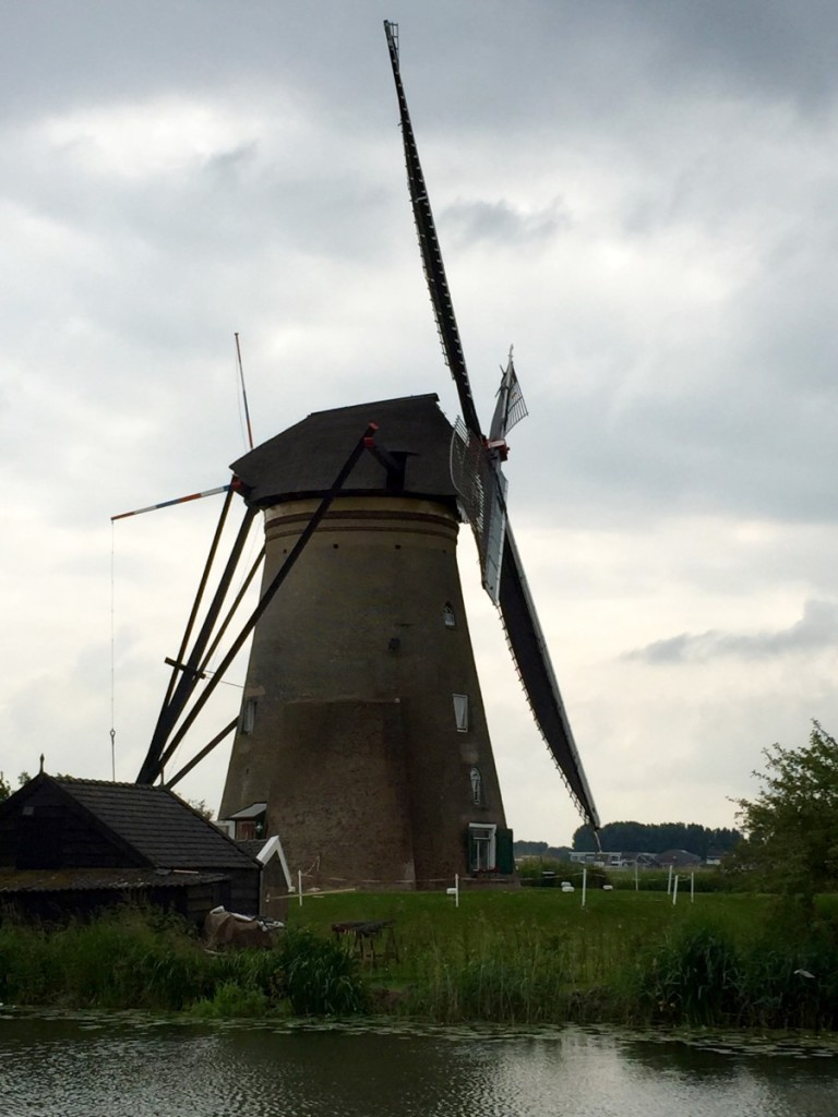 Windmill close-up