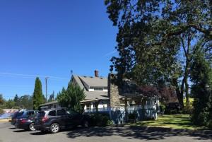 Gateway Cottage: Back