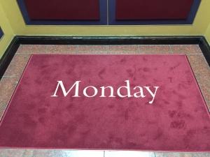 Calendar carpet