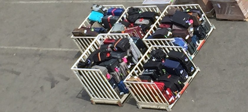 Lots of luggage