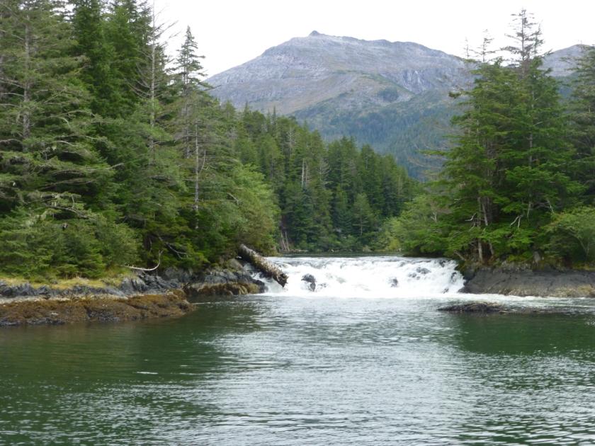 Sitka waterfall