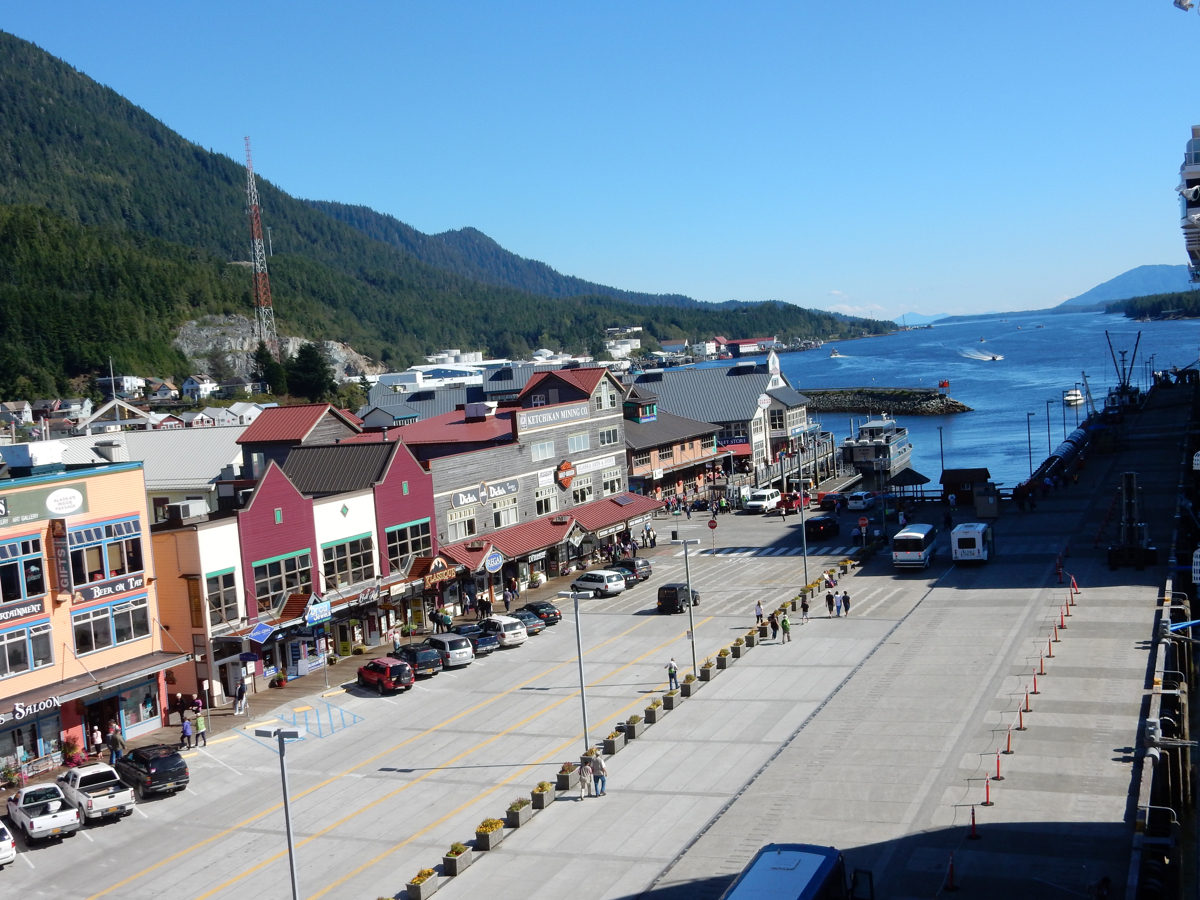 view of Ketchikan, AK