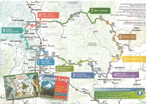 Cascades Loop map