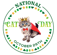 National Cat Day logo