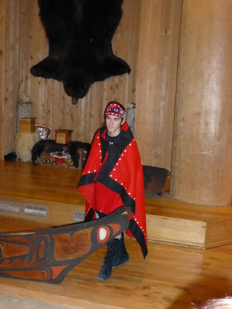Tlingit young man
