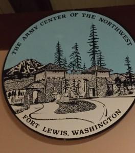 Circular Emblem: Fort Lewis, Washington