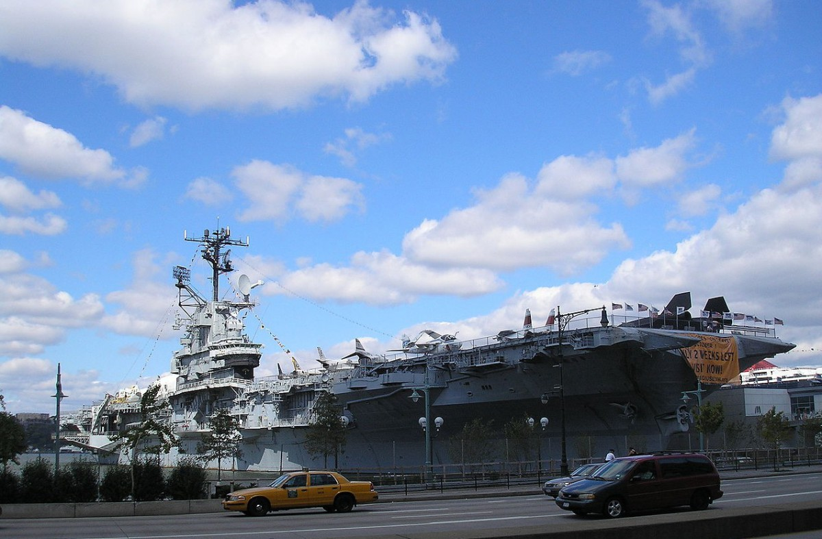 Photo of the Intrepid Sea, Air & Space Museum