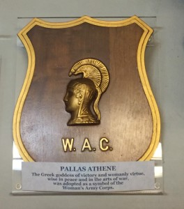 W.A.C. Crest: Pallas Athene