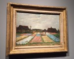 Flower Beds in Holland by Vincent van Gogh (ca. 1883)