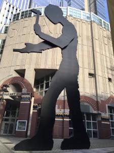 Hammering Man, Seattle, WA