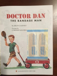 Bandages in Doctor Dan the Bandage Man