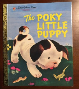 Cover: The Poky Little Puppy