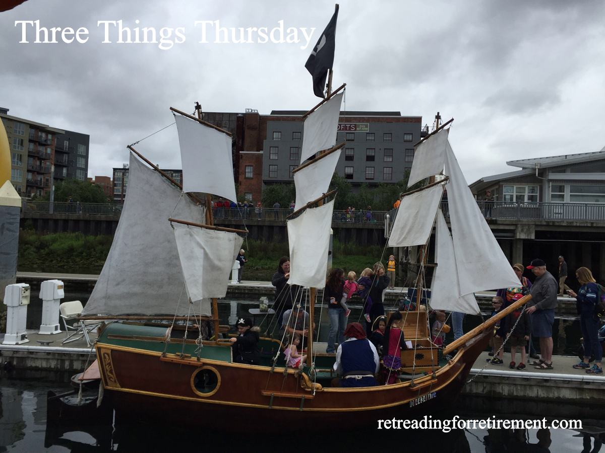 Three Things Thursday: Festival of Sail