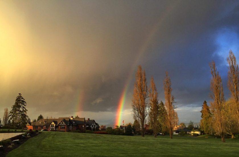 Double Rainbow at Franke Tobey Jones