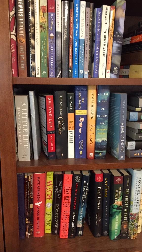 tbr shelves
