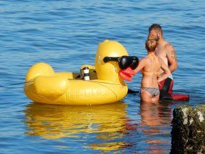 Rubber Ducky raft