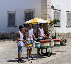 men's drum band