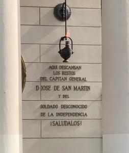 memorial to San Martin