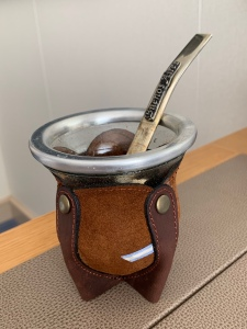 cup for preparing mate