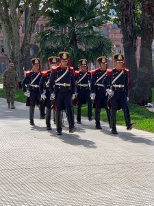 military guard