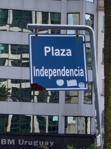 Independence Plaza sign